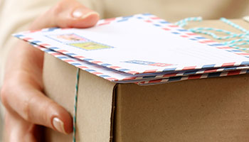 Postcards and Parcel